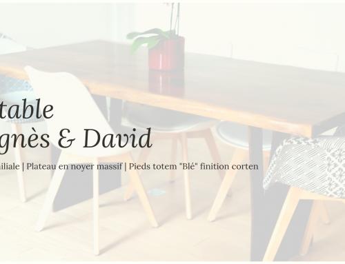 La table d'Agnès & David