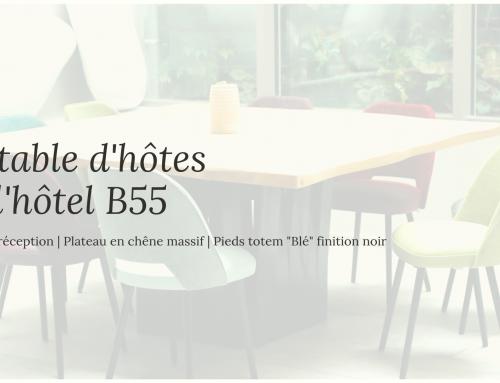La table d'hôtes du B55